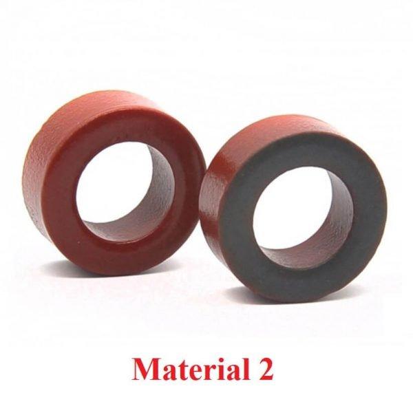 material 2 powder core